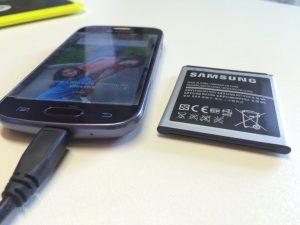 samsung batterie gonfie
