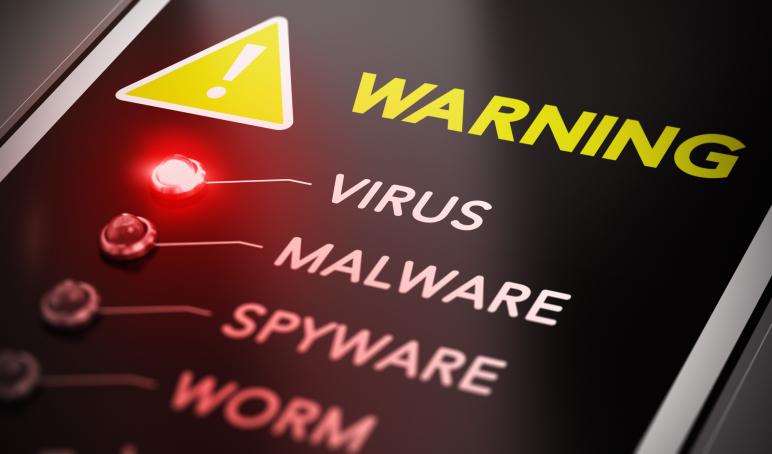 Rimozione di virus e malware